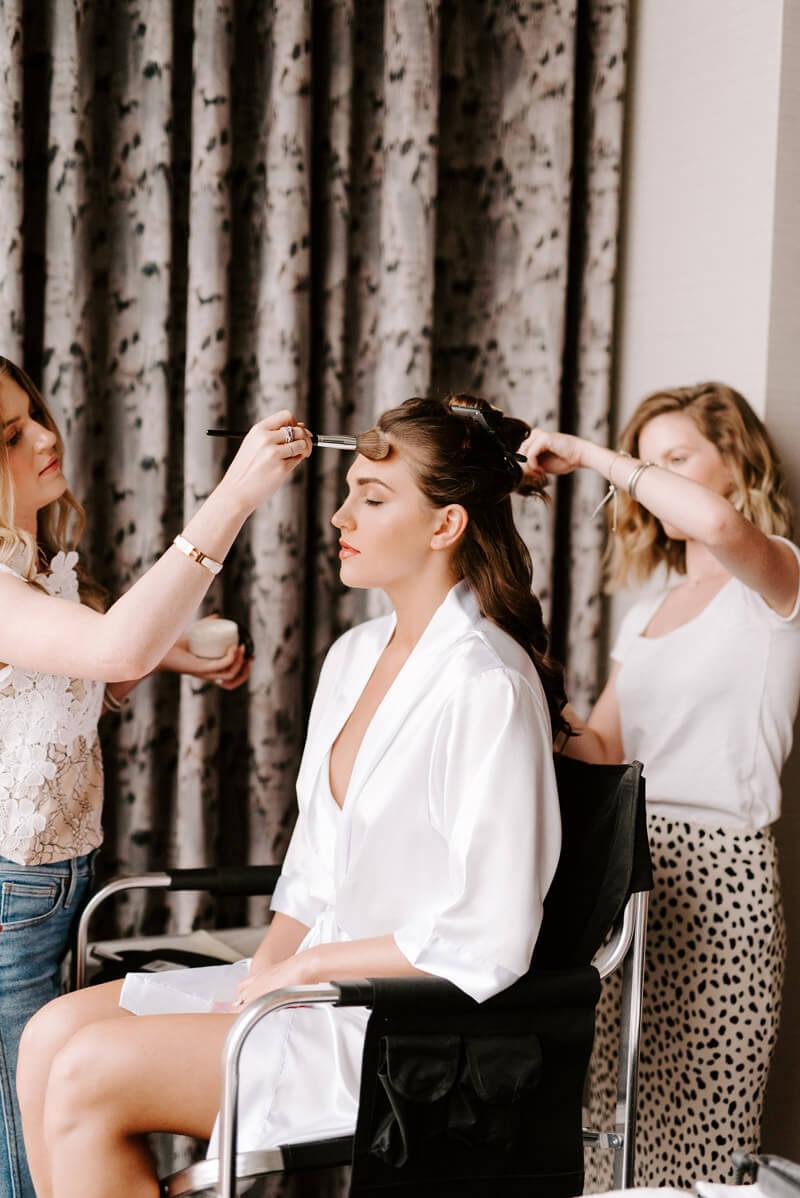Etoilly Wedding Hair and Wedding Makeup