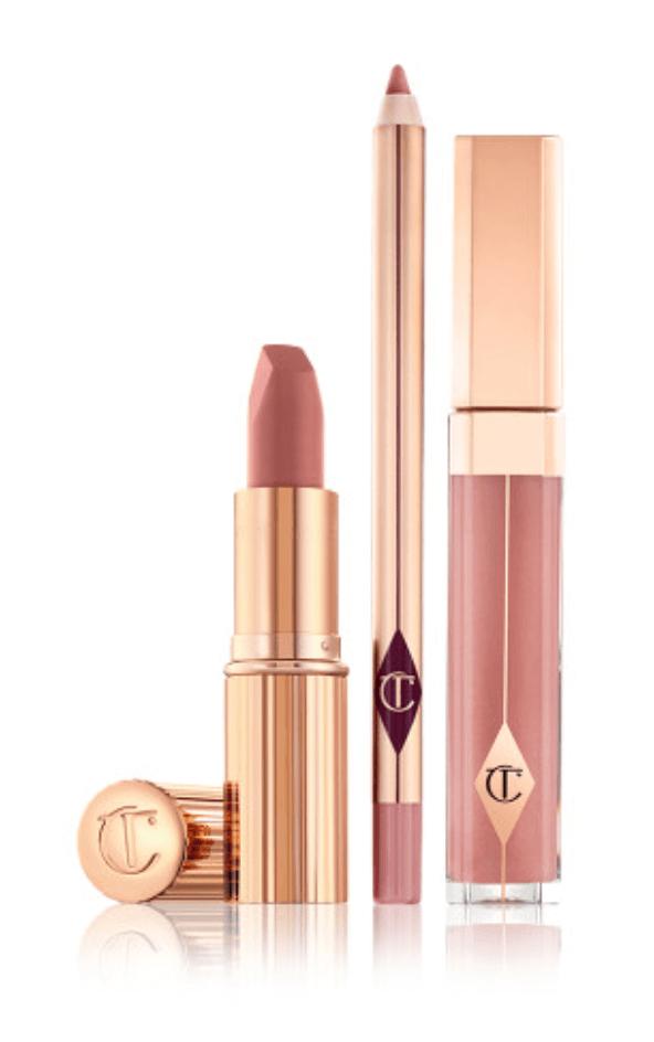 Wedding lipstick and makeup